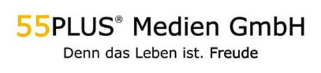 Logo 55PLUS Medien