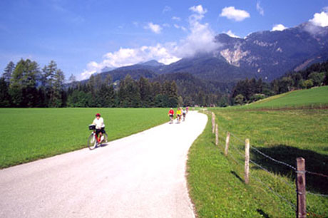 Radwandern bei Golling
