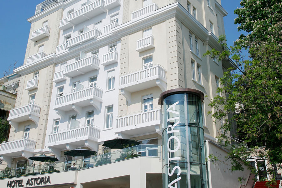 Astoria design hotel in opatija kroatien for Design hotel ungarn