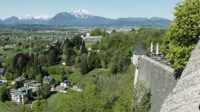 Mag. Johann Varga / Watzmann-Blick von Festung Hohensalzburg / Zum Vergrößern auf das Bild klicken