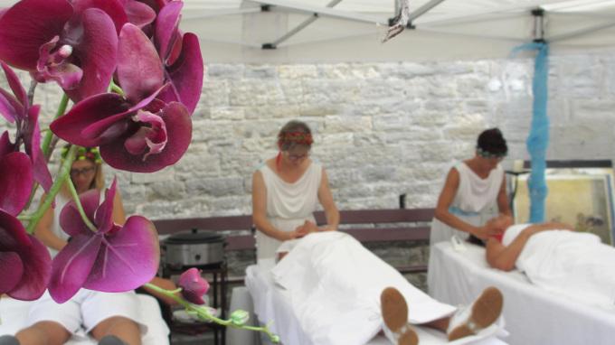 © 55PLUS Medien GmbH, Wien / Bagno di Romagna, Italien - Massagen / Zum Vergrößern auf das Bild klicken
