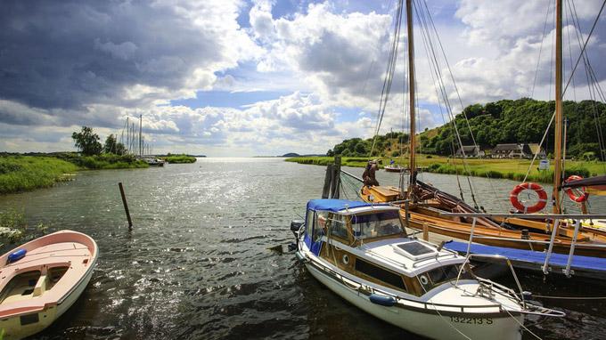© TMV/Grundner / Moritzdorf, Rügen - Boote / Zum Vergrößern auf das Bild klicken