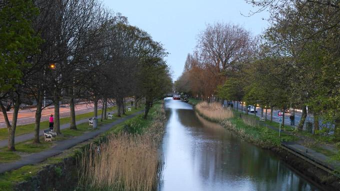 © Anita Arneitz und Matthias Eichinger / Dublin, Irland - Grand Canal / Zum Vergrößern auf das Bild klicken