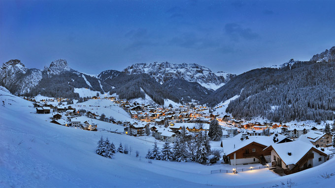 © Diego Moroder / Grödental, Südtirol - Wolkenstein / Zum Vergrößern auf das Bild klicken
