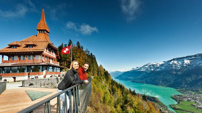 © www.jungfrau.ch / Harder Kulm, Schweiz / Zum Vergrößern auf das Bild klicken