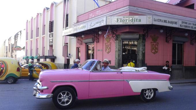 © 55PLUS Medien GmbH, Wien / Edith Spitzer / Havanna, Kuba - Floridita / Zum Vergrößern auf das Bild klicken