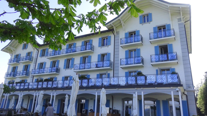 © 55PLUS Medien GmbH, Wien / Ennetbürgen, Schweiz - Hotel Villa Honegg_Ansicht / Zum Vergrößern auf das Bild klicken