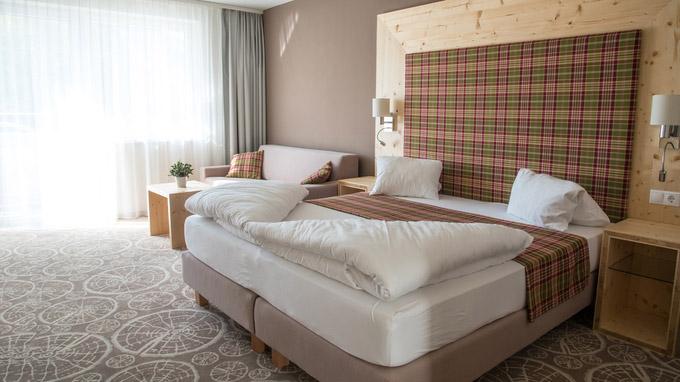 © Bernhard Bergmann / Boutique Hotel Erla - Zimmer / Zum Vergrößern auf das Bild klicken