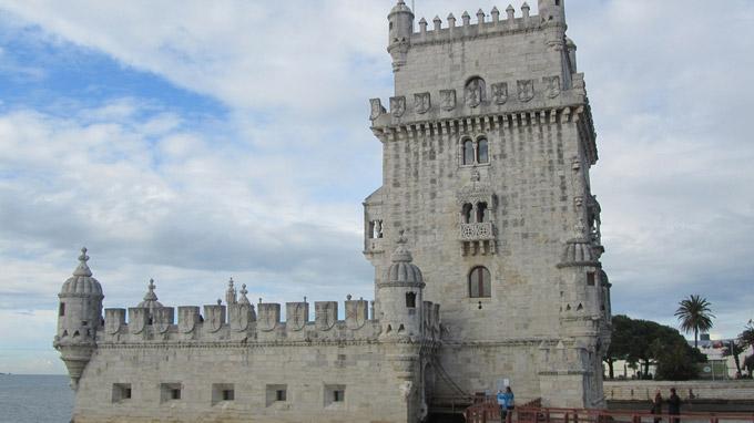 © Edith Köchl, Wien / Sintra, Portugal - Torre de Belem / Zum Vergrößern auf das Bild klicken