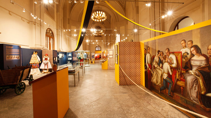 © Heimatkundliches Museum in Olmütz / Olmütz, CZ - Ausstellung Franz Joseph I in Olmütz / Zum Vergrößern auf das Bild klicken