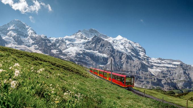 © www.jungfrau.ch / Jungfraubahn, Schweiz / Zum Vergrößern auf das Bild klicken