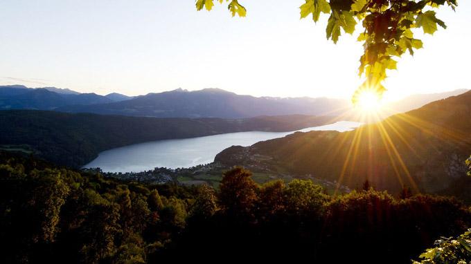 © Kärnten Werbung / Zupanc / Millstätter See, Kärnten_detail / Zum Vergrößern auf das Bild klicken