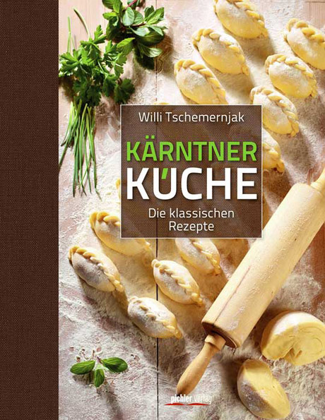 Foto Johannes Puch, Cover pichler Verlag / Willi Tschemernjak - Kärntner Küche / Zum Vergrößern auf das Bild klicken