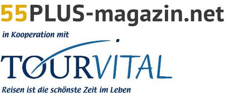© 55PLUS Medien GmbH, Wien / Kombi Logo Reisetipps