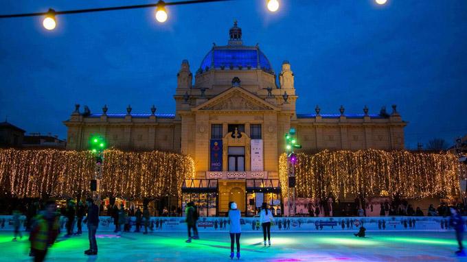 © Kroatische Zentrale für Tourismus / Zagreb, Kroatien - Adventzauber / Zum Vergrößern auf das Bild klicken