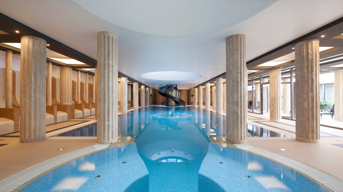 © Bad Luhacovice AG, CZ / Luhacovice, CZ - Hotel Alexandria_Pool / Zum Vergrößern auf das Bild klicken