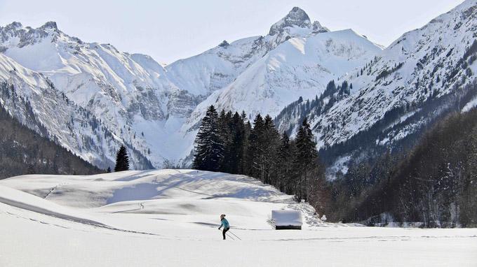 © Elena Alger / Oberstdorf, DE - Loipen für Langläufer / Zum Vergrößern auf das Bild klicken