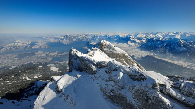 © Switzerland Tourism / Christian Perret / Luzern-Vierwaldstättersee, CH - Pilatus / Zum Vergrößern auf das Bild klicken