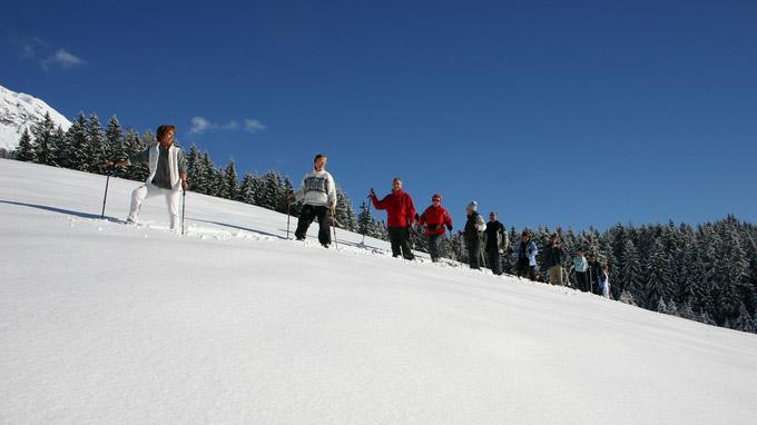 © Hotel Schneeberg / Schneeberg Schneeschuhwandern / Zum Vergrößern auf das Bild klicken