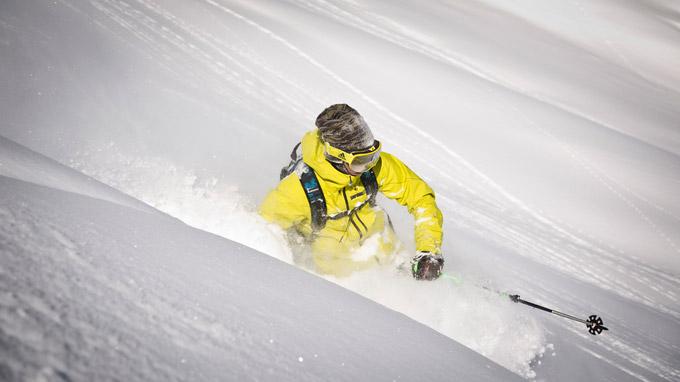 ©  adidas Sport eyewear / Mirja Geh / Skifahrer / Zum Vergrößern auf das Bild klicken