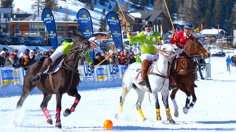 © PIPA / Snow-Polo in Bad Gastein / Zum Vergrößern auf das Bild klicken