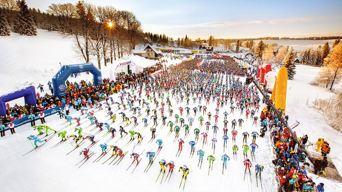 © CzechTourismo Jizerské 50 / Tschechien - Start Isergebirgslauf / Zum Vergrößern auf das Bild klicken