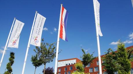 55PLUS Medien GmbH / Spa & Sport Resort Sveti Martin Hotelfahnen