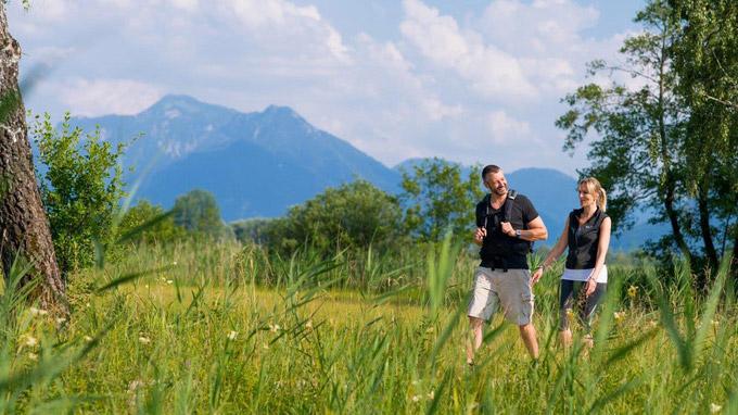 © Salzalpensteig/Andreas Jacob / Wandern in Oberbayern / Zum Vergrößern auf das Bild klicken