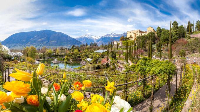© Die Gärten von Schloss Trauttmansdorff / Alexander Pichler / Trauttmansdorff, Südtirol / Zum Vergrößern auf das Bild klicken