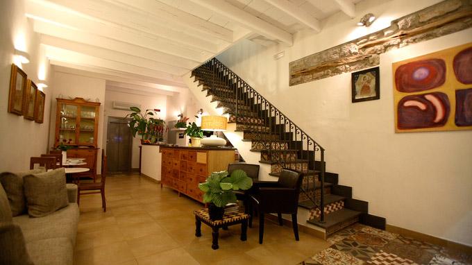 © Hotel Villa Pimpina, Carloforte / Hotel Villa Pimpina, Carloforte - Lobby / Zum Vergrößern auf das Bild klicken