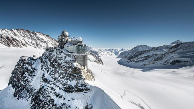© www.jungfrau.ch / Sphnix - Aletschgletscher, Schweiz / Zum Vergrößern auf das Bild klicken