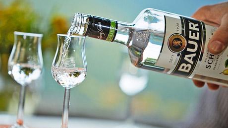 © www.world-spirits.com / Destillerie Bauer, Graz / Zum Vergrößern auf das Bild klicken