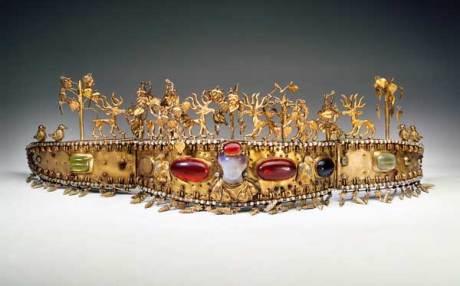 Kunsthalle Leoben - Ausstellung Das Gold der Steppe: Diadem