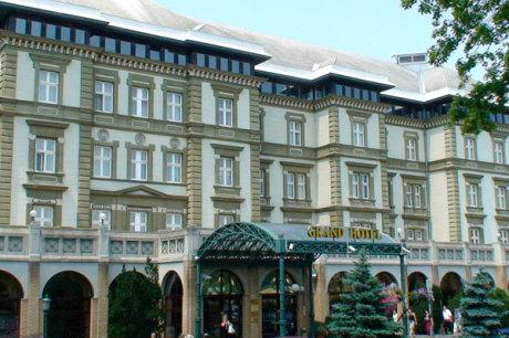 danubius grand hotel margitsziget budapest