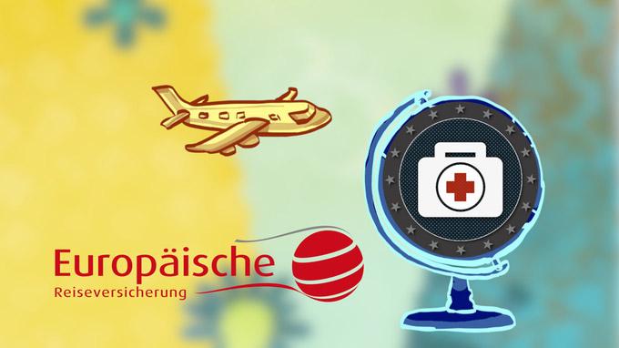 55PLUS Medien GmbH / Video-Intro Europäische Reiseversicherung / Zum Vergrößern auf das Bild klicken
