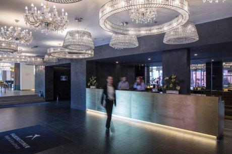 © Falkensteiner Hotels & Residences / Falkensteiner Hotel Margareten - Lobby / Zum Vergrößern auf das Bild klicken