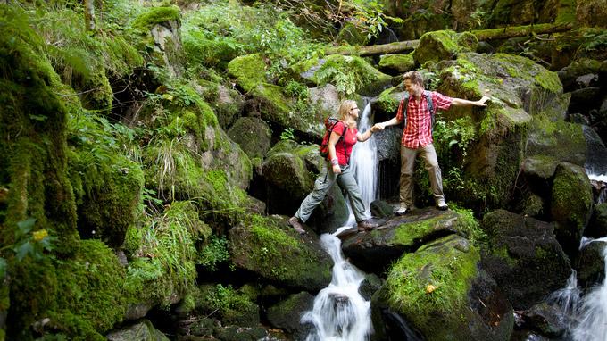 © ZweiTälerLand Tourismus / Clemens Emmler / Wasserfälle im ZweiTälerTal, Schwarzwald / Zum Vergrößern auf das Bild klicken