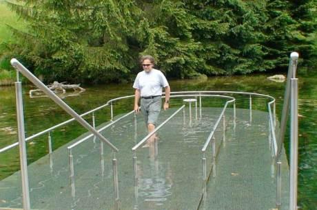 Entlebuch, Schweiz - Biosphärenpark: Kneipp-Bad