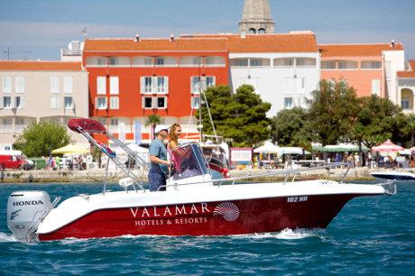 © Valamar Hotels & Resorts Ltd. / Valamar Riviera Hotel in Porec, Kroatien / Zum Vergrößern auf das Bild klicken