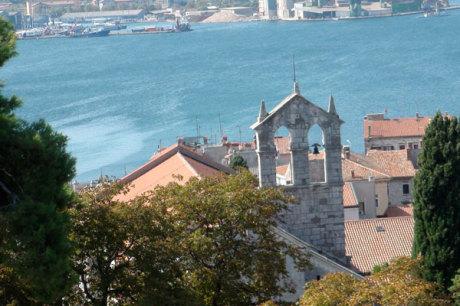 Pula Im S 252 Den Der Halbinsel Istrien Kroatien