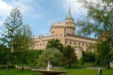 Schloss Bojnice, Slowakei - Bunnen