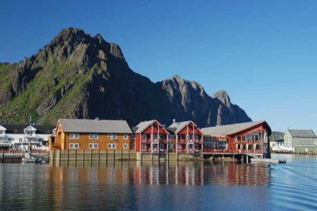 Svolvaer auf den Lofoten, Norwegen - © Andreas Mihatsch