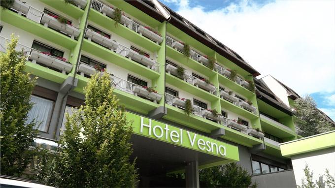 55PLUS Medien GmbH / Hotel Vesna Terme Topolšisca / Zum Vergrößern auf das Bild klicken
