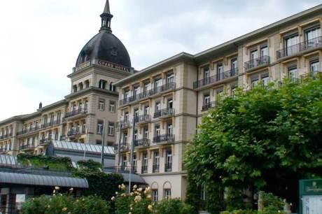 Victoria-Jungfrau Grand Hotel & Spa, Interlaken - Vorderansicht