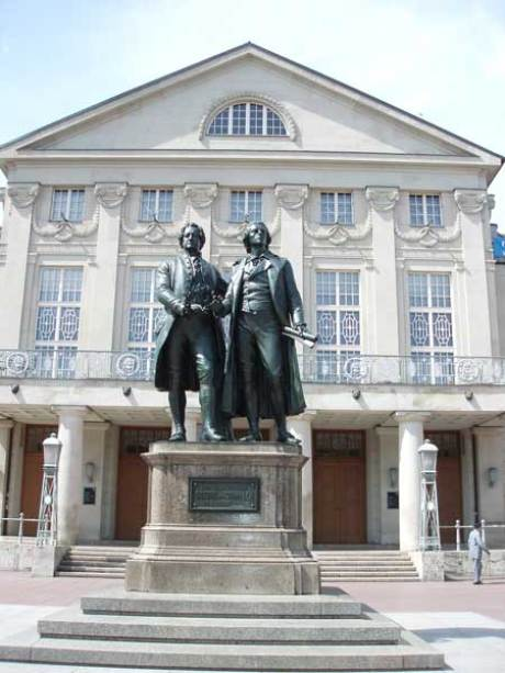Goethe erste bekanntschaft mit schiller