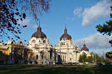 Budapest - Szechenyi-Bad, Außenansicht