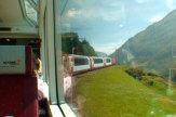 Glacier-Express, Schweiz - Streckenabschnitt / Zum Vergr��ern auf das Bild klicken