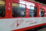 Matterhorn Gotthard Bahn, Schweiz / Zum Vergrößern auf das Bild klicken
