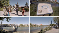 Mag. Johann Varga / Impressionen vom Historischen Zwei-Städte-Rundweg / Zum Vergrößern auf das Bild klicken
