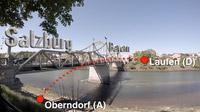 Mag. Johann Varga / Salzachbrücke von Oberndorf nach Laufen / Zum Vergrößern auf das Bild klicken